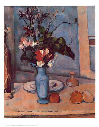 Paul Cezanne Blue Vase