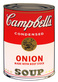 Warhol andy campbells soup onion medium