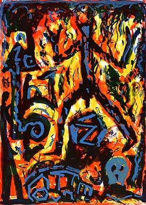A.R. Penck Flammen