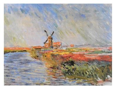Claude Monet Tulpenfeld