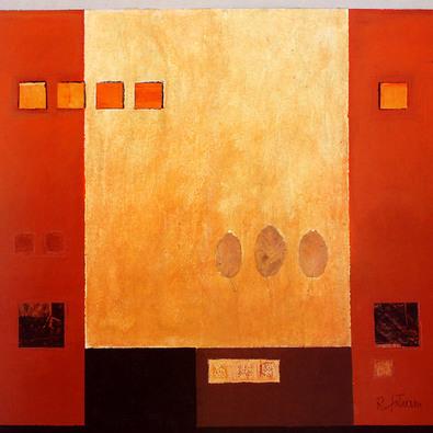 Robert Eikam 2er Set 'Tetragons III + IV'