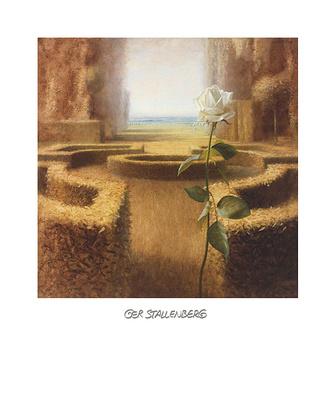 Ger Stallenberg 4er Set 'Mystic Garden I - IV'