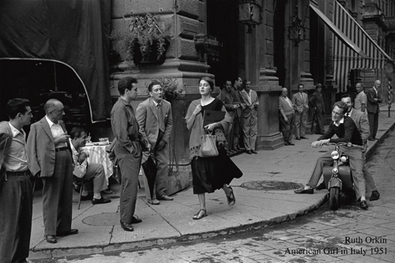 Ruth Orkin American Girl in Italy