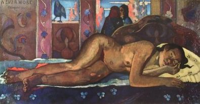 Paul Gauguin Niemals wieder