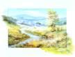 Reint Withaar Landschaft mit Fluss