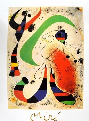 Joan Miro Die Nacht