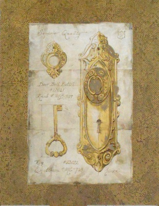 Lauren Hamilton Vintage Hardware Gold
