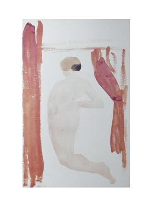 August Rodin Femme nue de dos