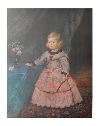 Diego Velazquez Infanta Margareta Theresia