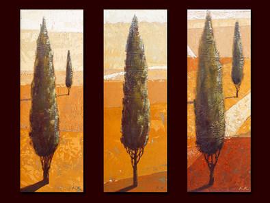 Karsten Kirchner 3er Set 'Falcone' + 'Monte Albano' + 'Catini'