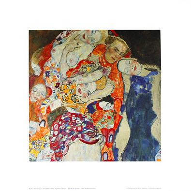 Gustav Klimt Die Braut (detail), 1918 (K 26)