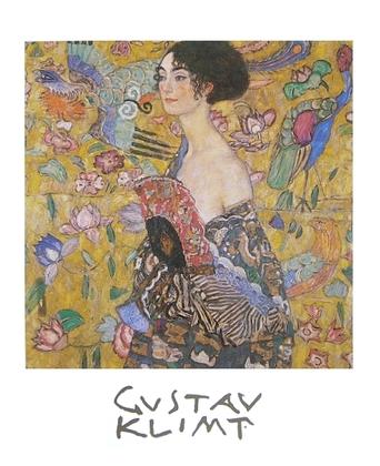 Gustav Klimt Frau mit Faecher