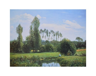 Claude Monet Ansicht von Rouelles