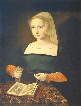 Meister weibl Hf Bildnis einer Frau