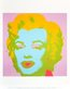 Warhol andy marilyn monroe 1967 pale pink medium