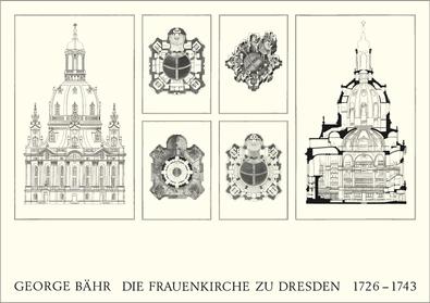 George Baehr Die Frauenkirche zu Dresden
