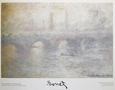 Claude Monet Waterloo Bridge