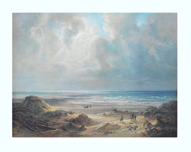 Christian E. B. Morgenstern An den Duenen der Nordsee