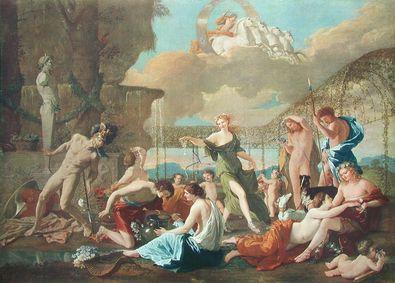 Nicolas Poussin Das Reich der Flora