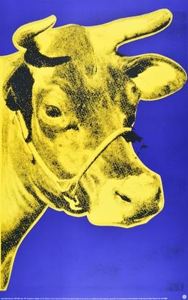 Andy Warhol Kuh gelb