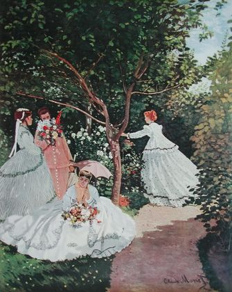 Claude Monet Frauen im Garten