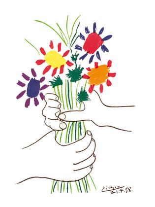 Pablo Picasso Bouquet