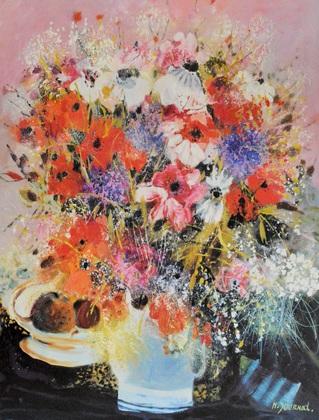 Monique Journod Blumen und Fruechte
