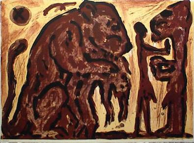 A.R. Penck Erinnerung unbekannt