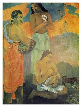 Paul Gauguin Die Frauen am Ufer des Meeres, 1899