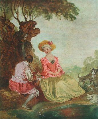 Antoine Watteau Pastorale
