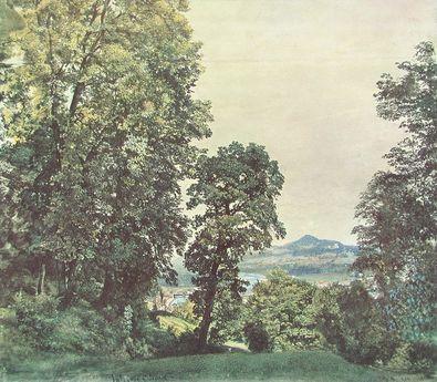 Rudolph von Alt Am Moenchsberg bei Salzburg