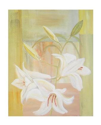 Ema Zahlmann Geometrie mit Lilien