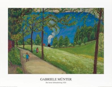Gabriele Muenter Der letzte Schnauferlzug 1924