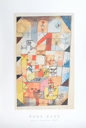 Paul Klee Haus-Inneres