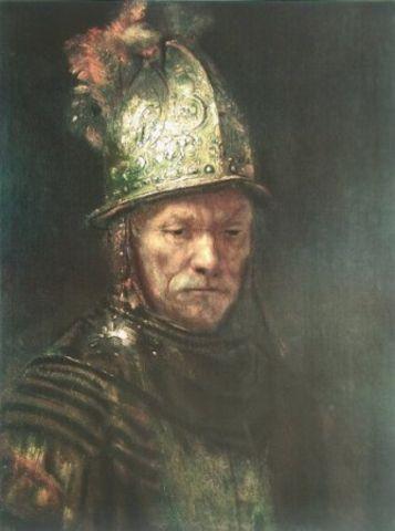 Rembrandt Der Mann Mit Dem Goldhelm Poster Kunstdruck Bei