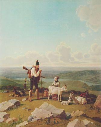 Wilhelm Alexander Wolfgang von Kobell Der Gemsjaeger