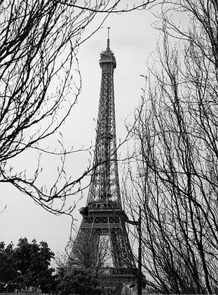 Toby Vandenack 3er Set 'Autumn Eiffel Tower' + 'Le St. Regis' + 'Rue St. Jacques'