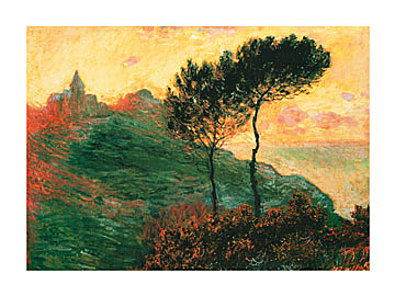 Claude Monet The Church at Varengeville