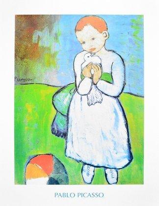 Pablo Picasso Kind mit Taube