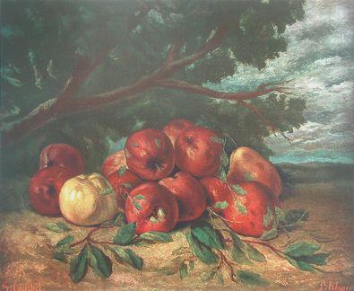 Gustave Courbet Apfelstilleben