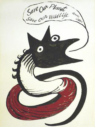 Alexander Calder Save our Planet