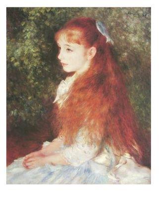 Pierre Auguste Renoir Die kleine Irene Cahen d Anvers