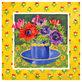Jennifer Abbott 4er Set 'Floral Cup I - IV'