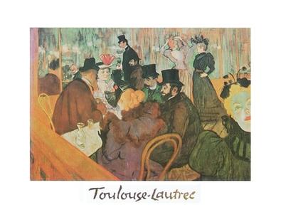 Henri Toulouse-Lautrec Das Moulin Rouge