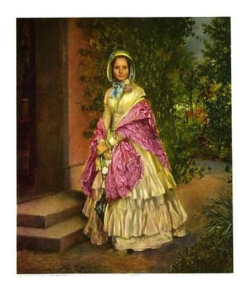Adolph Menzel Frau Clara Schmidt von Knobelsdorff (klein)