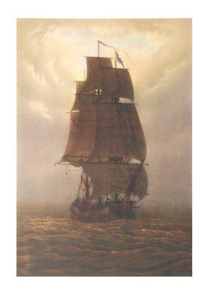 Caspar David Friedrich Segelschiff