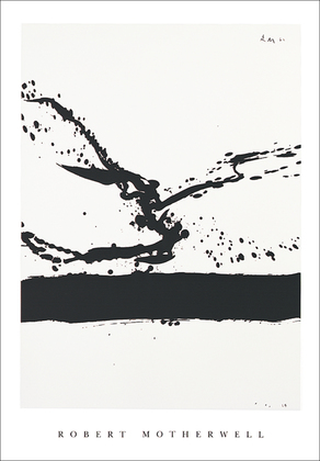 Robert Motherwell Beside the sea N 24