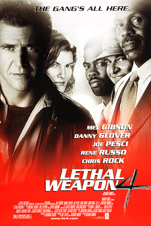 lethal weapon 4 mel gibson danny glover movie film kino