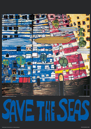 Friedensreich Hundertwasser Save the seas