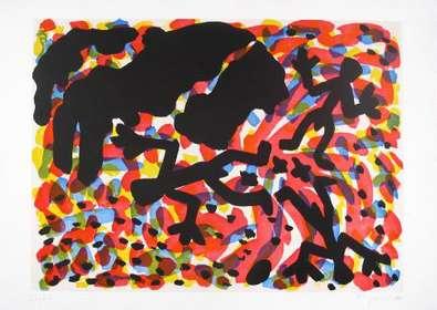 A.R. Penck Berlin Blatt VII